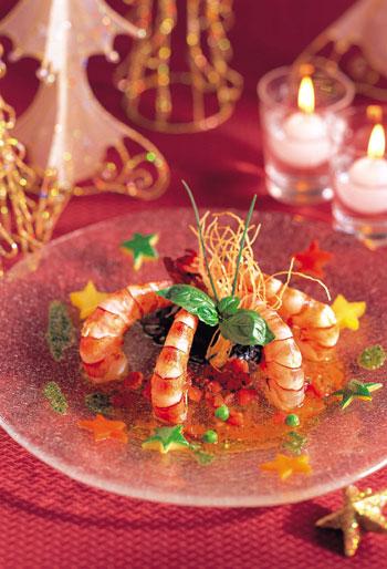 millenial-seoul-hilton-holidays-2014-shrimp