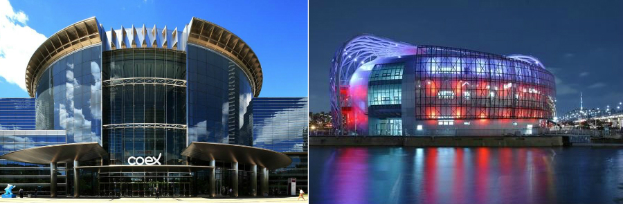 ▲Scheduled destinations for Post-Tour(COEX, Floating Island)