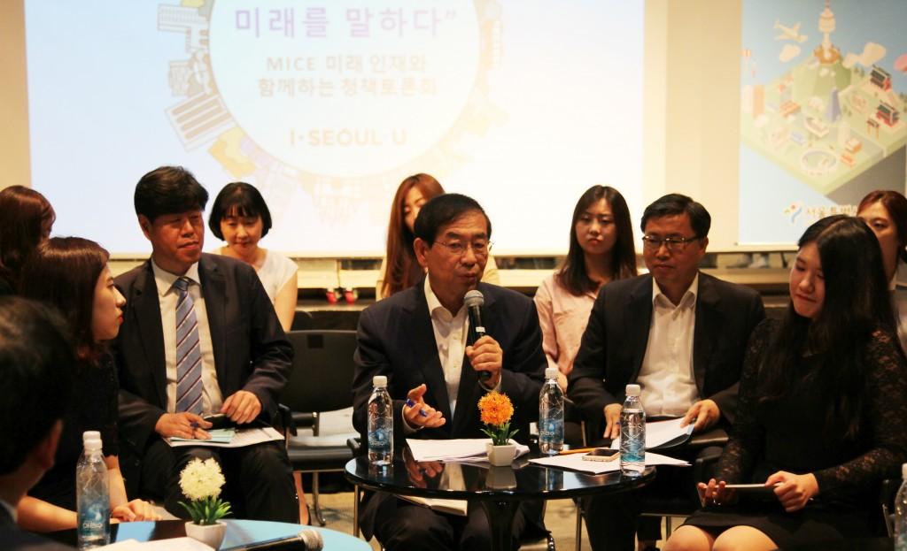 ▲Park Won-soon, the mayor of Seoul