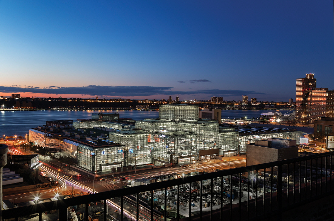 Jacob K Javits Convention Center Renovation, Location: New York NY