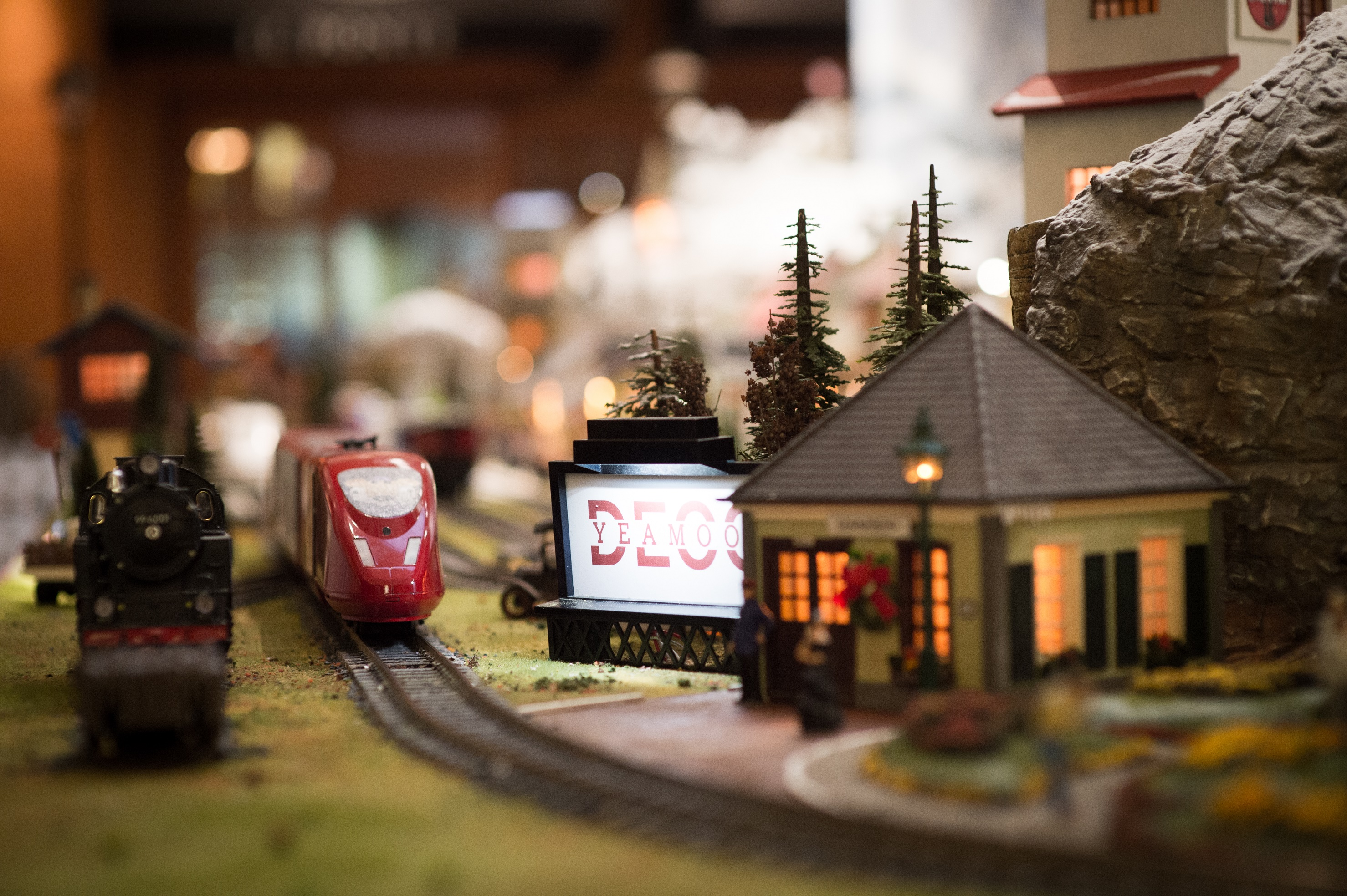 밀레니엄 서울힐튼 크리스마스 열차 2